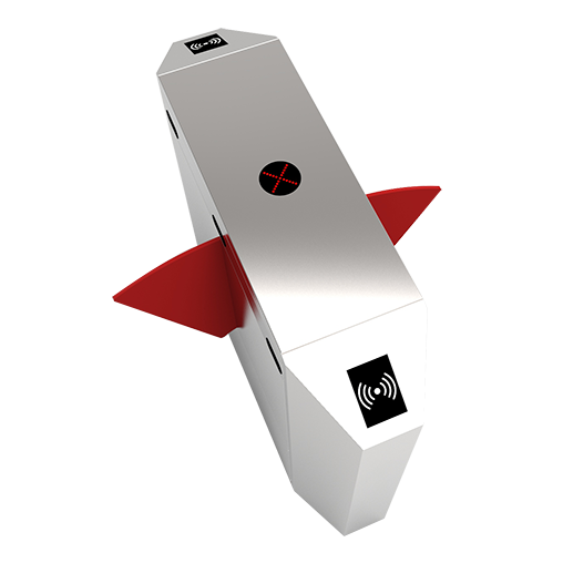 FBL2211射频卡识别智能双通道翼闸