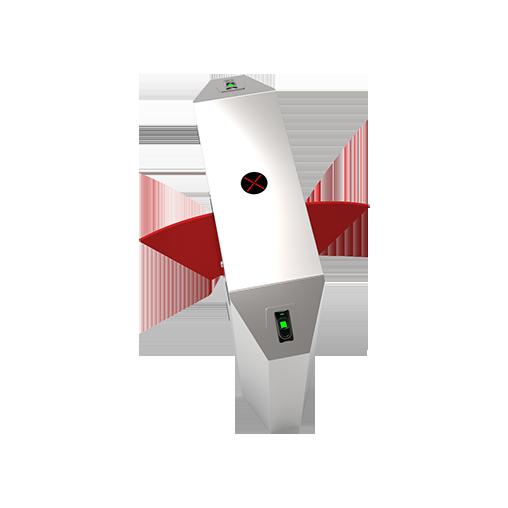 FBL2222指纹识别智能双通道翼闸