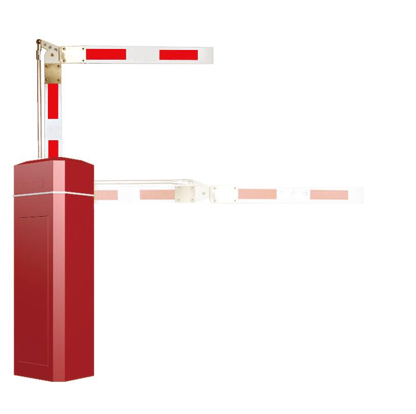 ZK-BAR-B1-90 90度曲杆道闸(全红)